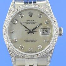 Rolex Datejust 36 mm Diamantbesatz nachträglich