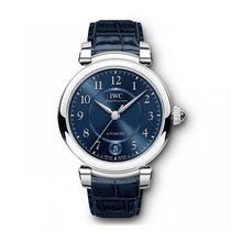 IWC Da Vinci Automatic  Blue Dial IW458312 Mid-Size WATCH