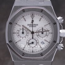 Audemars Piguet Royal Oak Chrono Kasparov white full set 25860ST