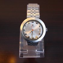 Tissot Plastic Automatic Silver No numerals 40mm pre-owned