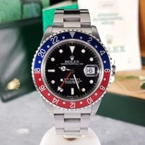 Rolex GMT-Master II 16710 Pepsi / 1992  / Box and Papers / EU (E)