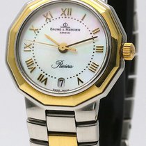 Baume & Mercier 18K gold & Steel Mother Of Pearl 5231.3...