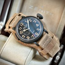 Zenith Pilot Type 20 GMT neu 2015 Automatik Nur Uhr 96.2431.693/21.c738