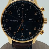 IWC Portuguese Chronograph pink gold rose gold box papers