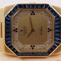 Rolex Oman Cellini, Diamonds & Sapphire, Super Rare