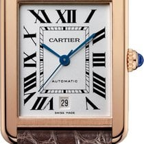 Cartier Tank Solo Rose gold 31mm Roman numerals
