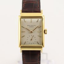 Patek Philippe Vintage Yellow gold 23mm Silver United Kingdom, London