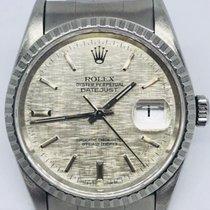 Rolex Datejust 16220 rare silver dial