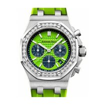 Audemars Piguet Royal Oak Offshore Lady Steel 37mm Green No numerals United States of America, New York, New York