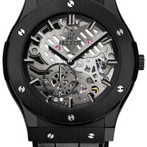 Hublot 45mm Cuerda manual usados Classic Fusion Ultra-Thin Transparente