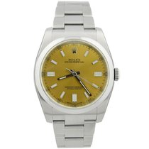 Rolex Oyster Perpetual 36 Steel 36mm Arabic numerals United States of America, California, Fullerton