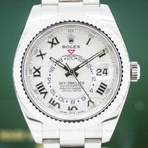 Rolex Sky-Dweller Белое золото 42mm