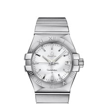 Omega Constellation Quartz Steel 35mm Silver United States of America, New York, New York