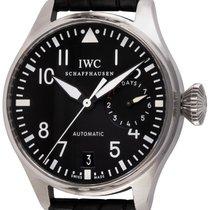IWC Big Pilot Steel 46mm Black Arabic numerals United States of America, Texas, Austin