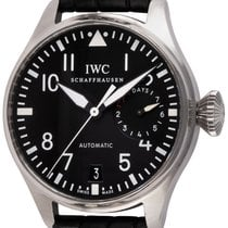IWC Big Pilot Steel 46mm Black Arabic numerals United States of America, Texas, Austin