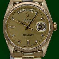 Rolex Day-Date 36 18038 Muy bueno Oro amarillo 36mm Automático
