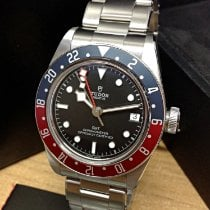 Tudor Black Bay GMT Stål 41mm Svart Inga siffror