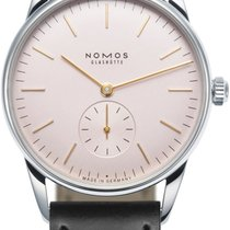 NOMOS Orion Steel 35mm Pink