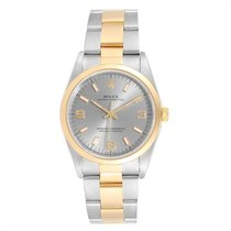 Rolex Oyster Perpetual pre-owned 34mm Gold/Steel