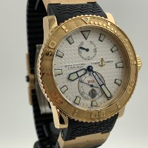 Ulysse Nardin Maxi Marine Diver pre-owned 43mm White Date Rubber