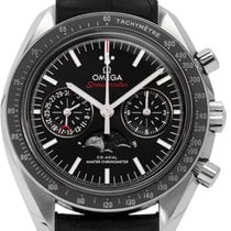 Omega Speedmaster Professional Moonwatch Moonphase gebraucht 44.2mm Leder
