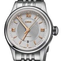 Oris Steel 29mm Automatic 01 561 7718 4071-07 8 14 10 new