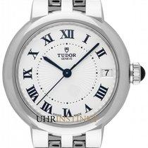 Tudor Clair de Rose Steel 34mm White