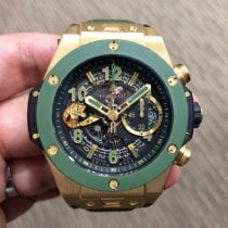 Hublot Yellow gold 45mm Automatic 411.VG.1189.LR.WBC19 pre-owned Singapore, Singapore