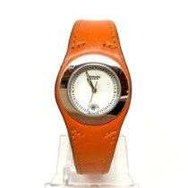 에르메스 스틸 쿼츠 HA3.210 중고시계