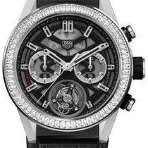 TAG Heuer Carrera Heuer-02T Titanium 45mm Transparent