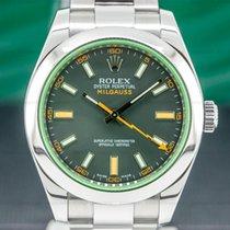 Rolex Milgauss Stahl 40mm Arabisch