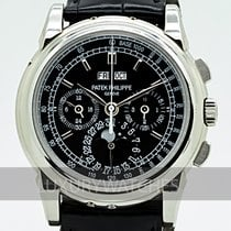 Patek Philippe Perpetual Calendar Chronograph Platina 40mm Preto