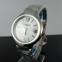 Baume & Mercier Promesse Steel 30mm Mother of pearl Roman numerals