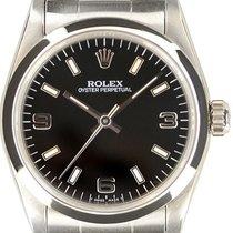 Rolex Oyster Perpetual 31 Сталь 31mm Чёрный Aрабские
