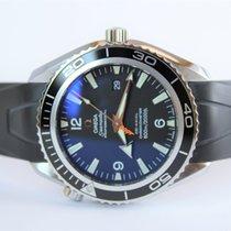 Omega Seamaster Planet Ocean Сталь 45,5mm Чёрный Aрабские