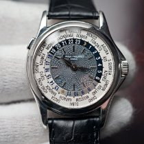 Patek Philippe World Time 5110P-001 2002 pre-owned