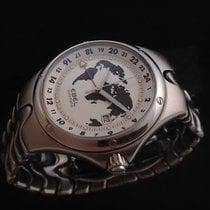 Ebel gebraucht Automatik 43mm Silber Saphirglas