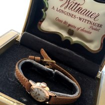 Longines Wittnauer Vintage Ladies watch Rose Gold with Box