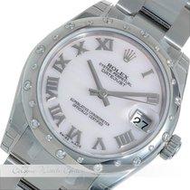 Rolex Datejust Brilliantbesatz Stahl 178344
