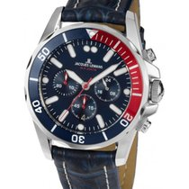 Jacques Lemans Sport Liverpool Steel 43mm Blue