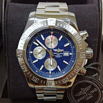 Breitling Super Avenger II occasion 48mm Bleu Chronographe Date Acier