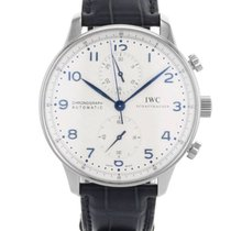 IWC Portuguese Chronograph IW371446 Stainless Steel Automatic