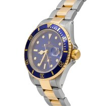 Rolex Submariner Date, Two-Tone, Ref# 16613, 40 mm,  12 m...