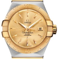 Omega Constellation Gold/Steel 31mm Champagne