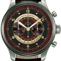 Zeno-Watch Basel Steel 47.5mm Automatic 8561BH-f1-Puls new