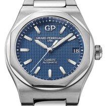 Girard Perregaux 81010-11-431-11A Steel Laureato 42mm new