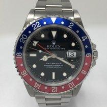 Rolex GMT-Master Steel Red/Blue Pepsi Bezel 16700 Mint
