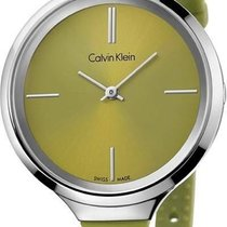 ck Calvin Klein Steel 34mm Quartz K4U231WL new