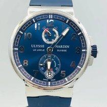 Ulysse Nardin 43mm Otomatik ikinci el Marine Chronometer Manufacture