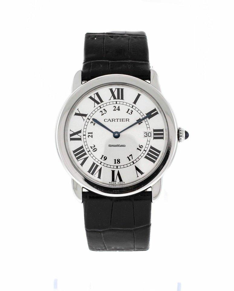 3f5abcbef46 Cartier Ronde Solo de Cartier - Todos os preços de relógios Cartier Ronde  Solo de Cartier na Chrono24